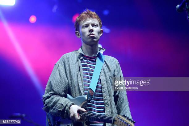 Singer Archy Marshall of King Krule performs onstage during the Tropicalia Music and Taco Festival at Queen Mary Events Park on November 11, 2017 in...