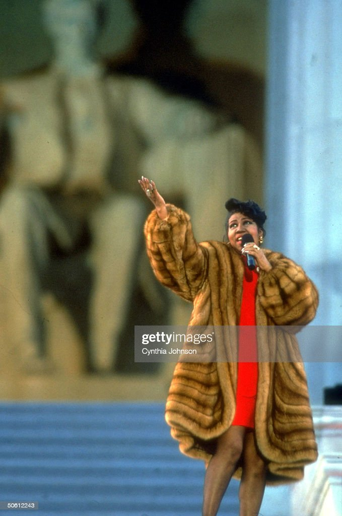 Aretha Franklin : News Photo
