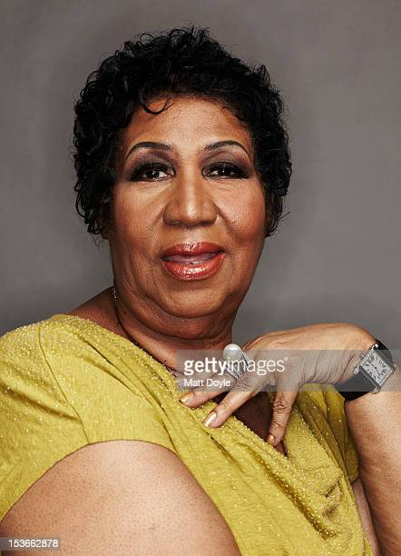 Singer Aretha Franklin is photographed for Self Assignment on March 26 2012 in New York City