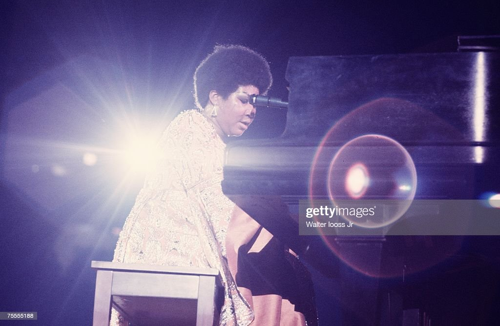 Aretha Franklin performs in New York : News Photo