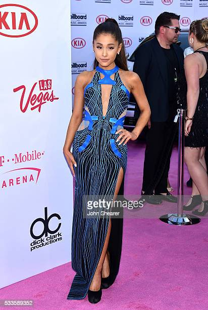 Singer Ariana Grande attends the 2016 Billboard Music Awards at TMobile Arena on May 22 2016 in Las Vegas Nevada