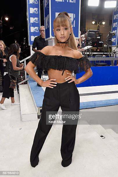 Singer Ariana Grande attends the 2016 MTV Video Music Awards at Madison Square Garden on August 28 2016 in New York City