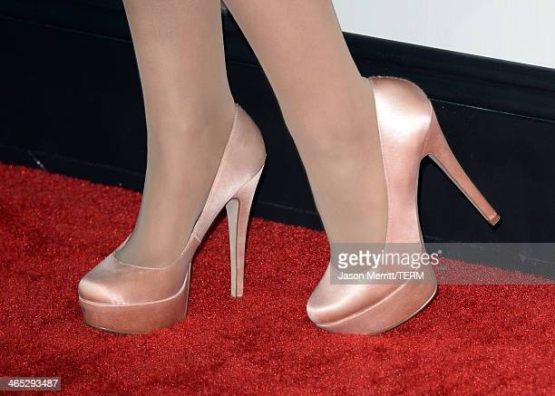 Singer Ariana Grande attends the 56th GRAMMY Awards at Staples Center on January 26 2014 in Los Angeles California
