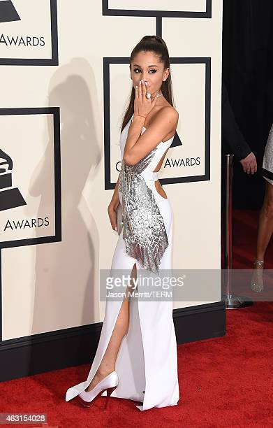 Singer Ariana Grande attends The 57th Annual GRAMMY Awards at the STAPLES Center on February 8 2015 in Los Angeles California