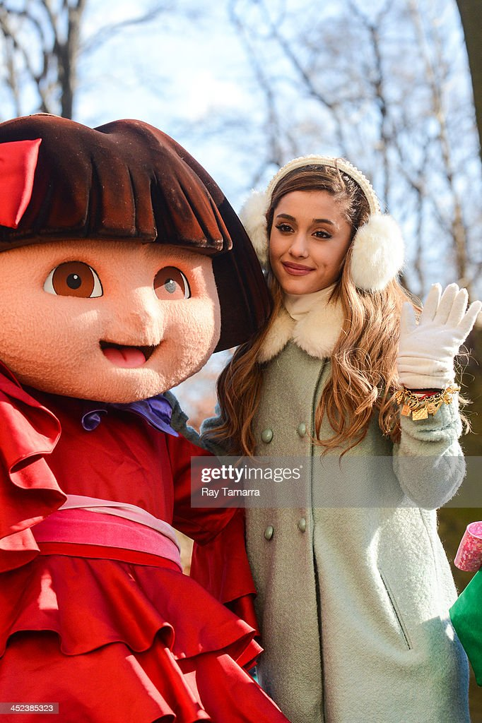 Singer Ariana Grande attends the 87th Annual Macy's Thanksgiving Day Parade on November 28, 2013 in New York City.