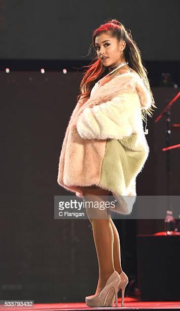 Singer Ariana Grande performs during 1027 KIIS FM's Wango Tango 2016 at StubHub Center on May 14 2016 in Carson California