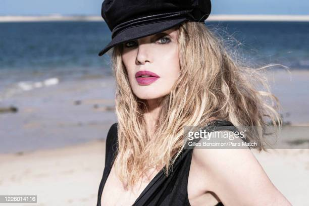 FRA: Arielle Dombasle, Paris Match Issue 3712, July 8, 2020