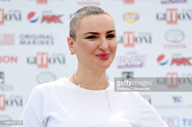 Singer Arisa attends Giffoni Film Festival 2019 on July 21 2019 in Giffoni Valle Piana Italy