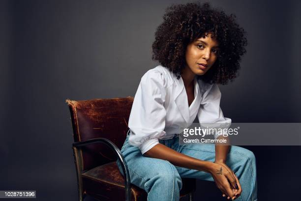 Singer Arlissa from the film 'The Hate U Give' poses for a portrait during the 2018 Toronto International Film Festival at Intercontinental Hotel on...