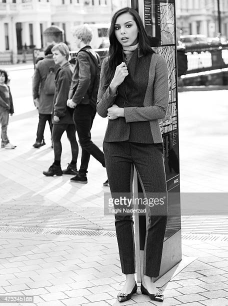 Singer Arlissa Ruppert is photographed for InStyle Magazine UK on April 8 2014 in London England PUBLISHED IMAGE