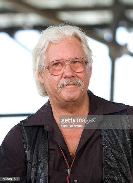 Singer Arlo Guthrie at the press conference prior to the Farm Aid concert at the Comcast Center in Mansfield