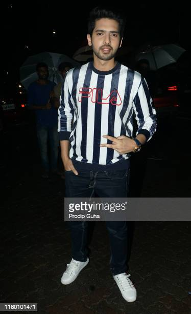 Singer Arman Malik attends the success party of the movie Kabir Singhon July 4 2019 in Mumbai India