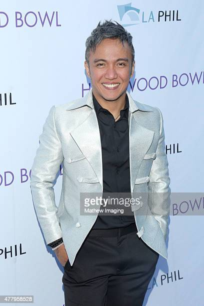 Singer Arnel Pineda of Journey attends Hollywood Bowl Opening Night 2015 at the Hollywood Bowl on June 20 2015 in Hollywood California