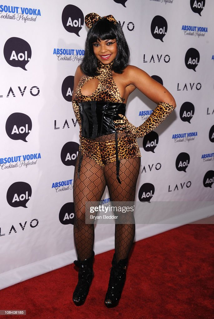 Singer Ashanti attends Heidi Klum's 2010 Halloween Party at Lavo on October 31, 2010 in New York City.