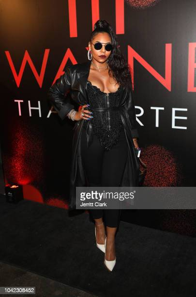 Singer Ashanti attends Lil Wayne's 36th birthday party and Carter V release at HUBBLE on September 27 2018 in Los Angeles California