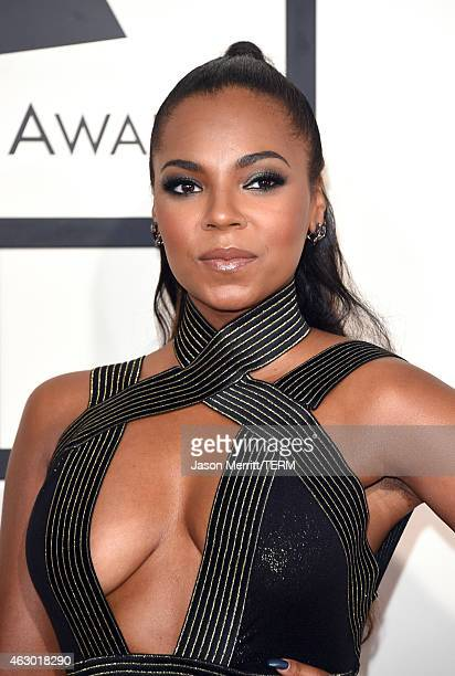 Singer Ashanti attends The 57th Annual GRAMMY Awards at the STAPLES Center on February 8 2015 in Los Angeles California