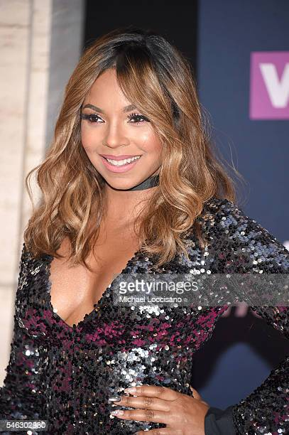 Singer Ashanti attends the VH1 Hip Hop Honors All Hail The Queens at David Geffen Hall on July 11 2016 in New York City