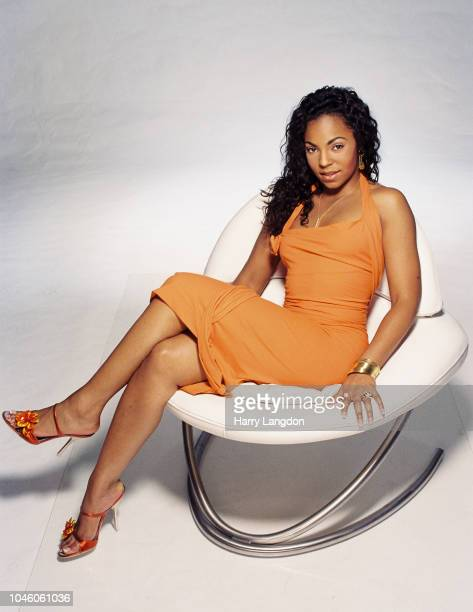 Singer Ashanti poses for a portrait in 2002 in Los Angeles California