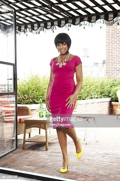 Singer Ashanti poses for OK Magazine in New York Published Image Photo by Perry Hagopian/Contour by Getty Images