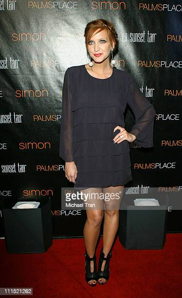 Singer Ashlee Simpson arrives at the grand opening of the Palms Place Hotel & Spa held on May 31, 2008 in Las Vegas, Nevada.