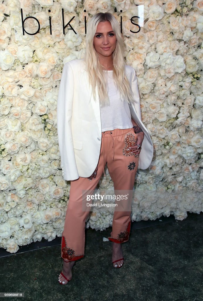 Singer Ashlee Simpson attends the Gigi C Bikinis Pop-Up Launch Event at The Park at The Grove on May 17, 2018 in Los Angeles, California.