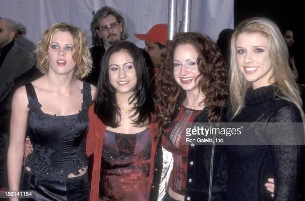Singer Ashley Poole Singer Diana Ortiz Singer Holly BlakeArnstein and Singer Melissa Schuman