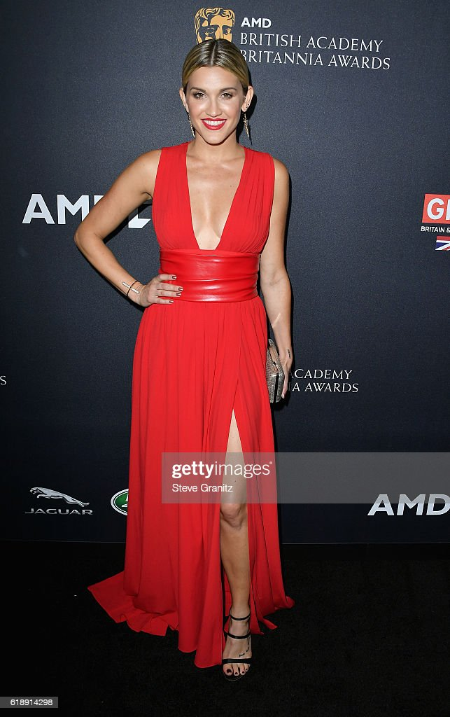 Singer Ashley Roberts attends the 2016 AMD British Academy Britannia Awards presented by Jaguar Land Rover and American Airlines at The Beverly Hilton Hotel on October 28, 2016 in Beverly Hills, California.