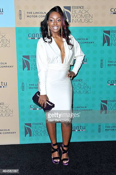 Singer Ashly Williams attends Essence Magazine's 5th Annual Black Women In Music Event at 1 OAK on January 22, 2014 in West Hollywood, California.