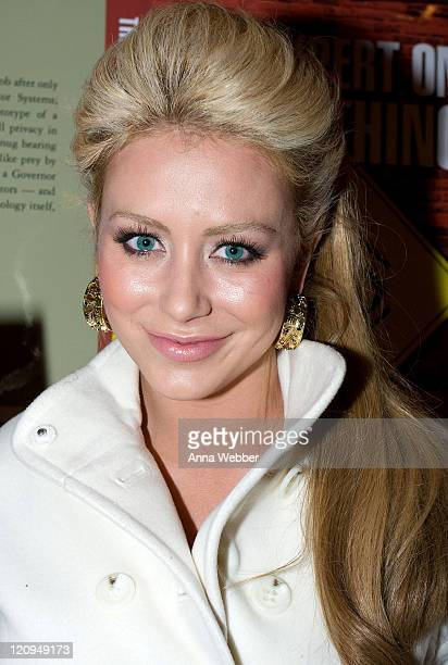 Singer Aubrey O'Day visits The Green Lodge on January 17, 2009 in Park City, Utah.