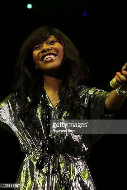 Singer Auburn Williams performs during the B96 Jingle Bash at the Allstate Arena in Rosemont Illinois on DEC 11 2010