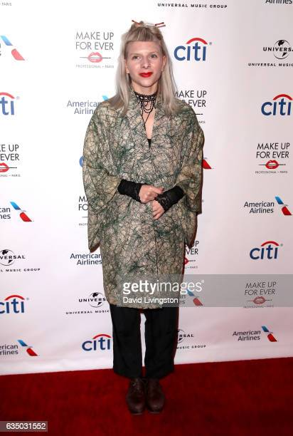Singer Aurora attends Universal Music Group's 2017 GRAMMY after party at The Theatre at Ace Hotel on February 12 2017 in Los Angeles California
