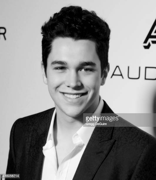 Singer Austin Mahone arrives at Warner Music Group's Annual GRAMMY Celebration at Milk Studios on February 12 2017 in Hollywood California