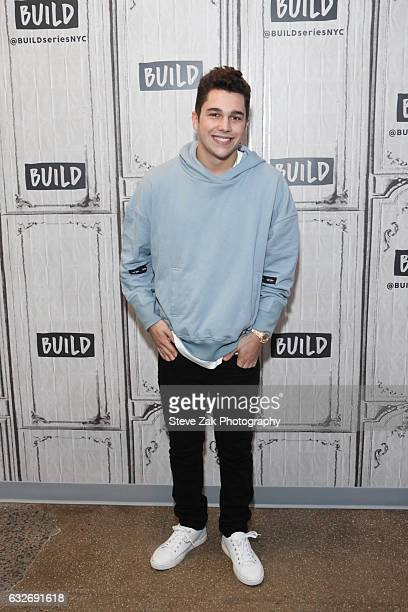 Singer Austin Mahone attends Build Series at Build Studio on January 25 2017 in New York City