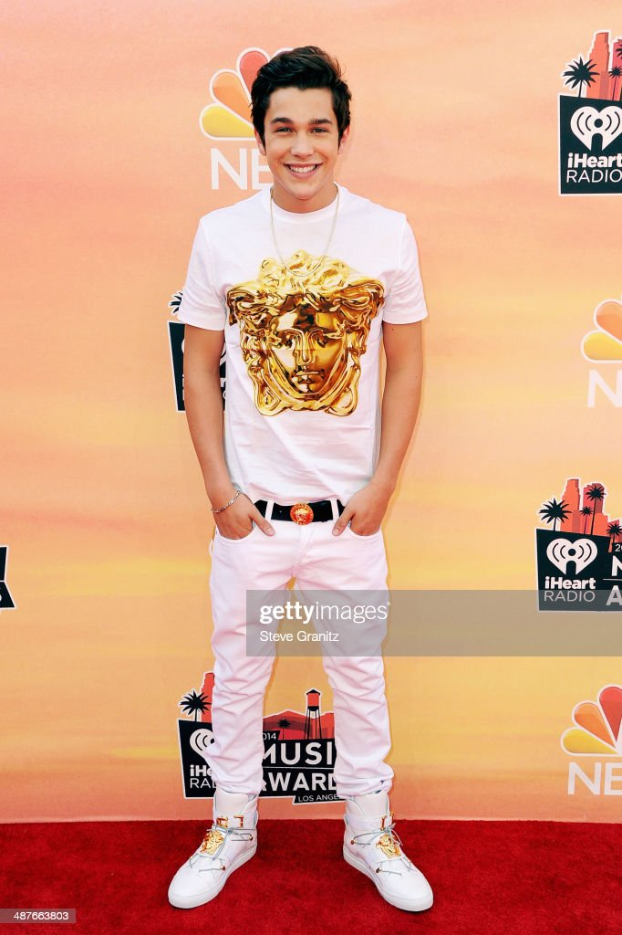 Singer Austin Mahone attends the 2014 iHeartRadio Music Awards held at The Shrine Auditorium on May 1, 2014 in Los Angeles, California.