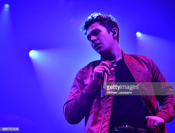 Singer Austin Mahone performs at Webster Hall on June 13 2017 in New York City