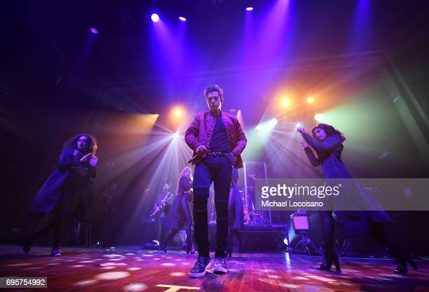 Singer Austin Mahone performs during the Apollo Spring Gala 2017 at The Apollo Theater on June 12 2017 in New York City