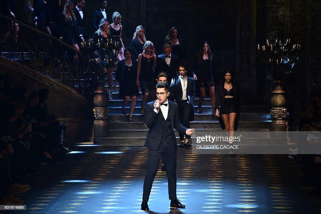FASHION-ITALY-MEN-DOLCE GABBANA : News Photo