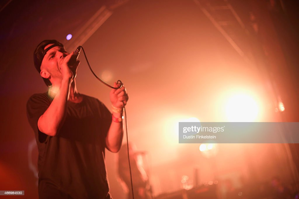 Singer Autre Ne Veut performs onstage at the Hype/Gorilla vs. Bear showcase during the 2015 SXSW Music, Film + Interactive Festivale at Hype Hotel on March 19, 2015 in Austin, Texas.