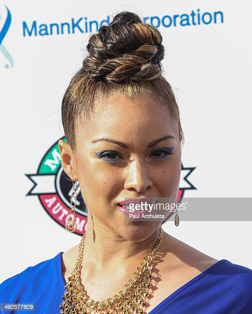 Singer Ava Johnson attends the 5th annual Big Fighters Big Cause charity boxing night at Santa Monica Pier on May 20 2014 in Santa Monica California