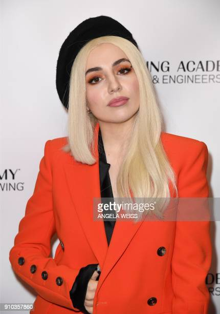 Singer Ava Max attends the Recording Academy Producers Engineers Wing 11TH annual GRAMMY¨ Week event honoring international music icons Alicia Keys...