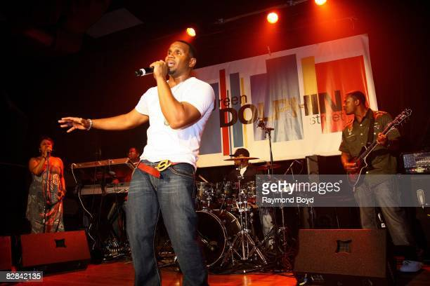 Singer Avant performs at Green Dolphin Street club in Chicago Illinois on September 11 2008