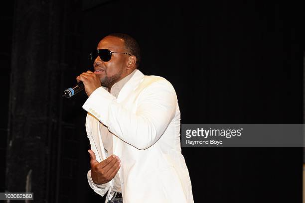 Singer Avant performs at the Harold Washington Cultural Center in Chicago Illinois on July 22 2010