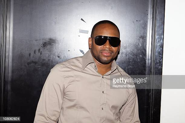 Singer Avant poses for photos at the Harold Washington Cultural Center in Chicago Illinois on July 22 2010