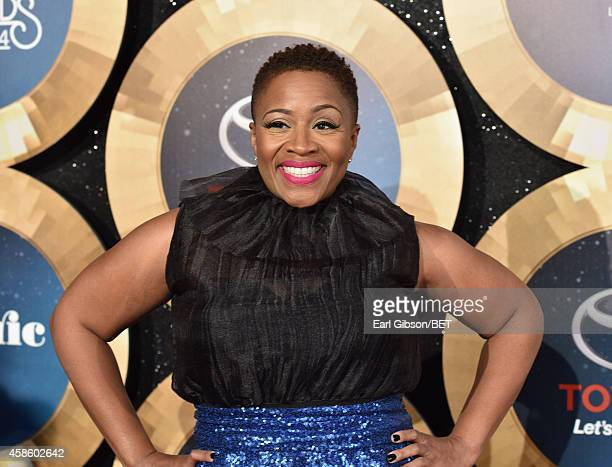 Singer AVERY*Sunshine attends the 2014 Soul Train Music Awards at the Orleans Arena on November 7 2014 in Las Vegas Nevada