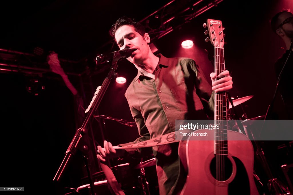Singer Aviv Geffen performs live on stage during a concert