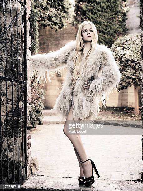 Singer Avril Lavigne is photographed for Glamour Italy on June 30 2013 in Cannes France PUBLISHED IMAGE