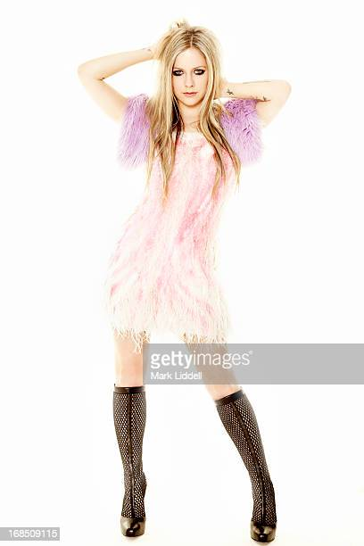 Singer Avril Lavigne is photographed for Hello Canada on March 12 2013 in Los Angeles California