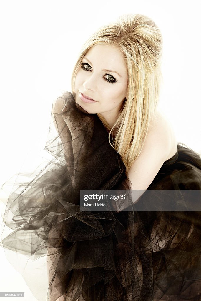 Singer Avril Lavigne is photographed for Hello - Canada on March 12, 2013 in Los Angeles, California.