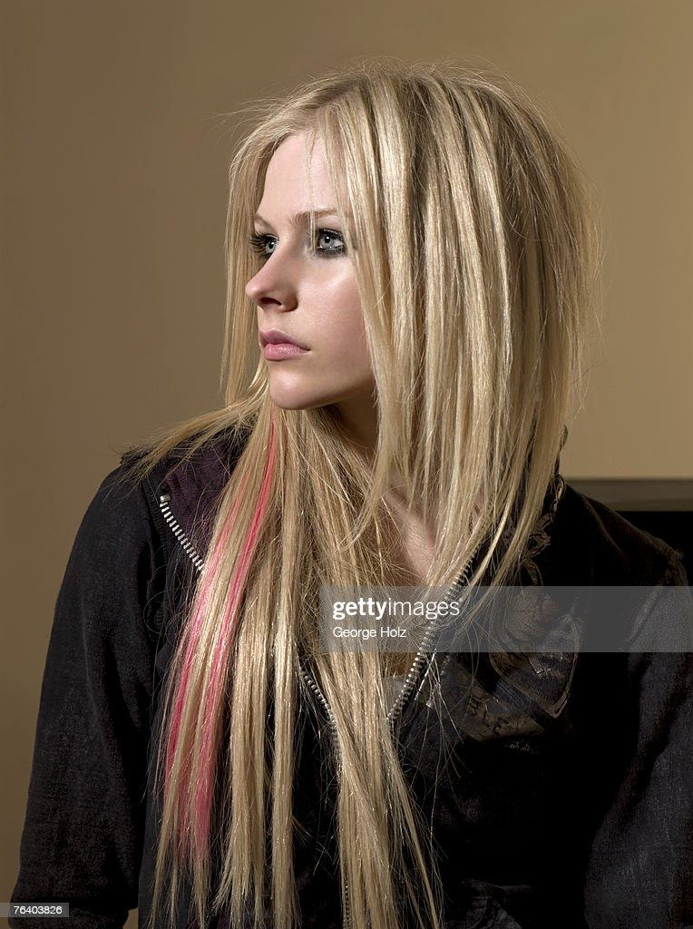 Singer Avril Lavigne is photographed for Seventeen Magazine on on January 16, 2007 at the MiauHauss Studios in Los Angeles, California.