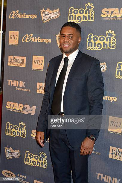 Singer Axel Tony attends the '35th Nuit des Publivores' at Grand Rex September 17 2015 in Paris France